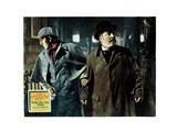 The Adventures of Sherlock Holmes, from Left, Basil Rathbone, Nigel Bruce, 1939 Giclée-tryk