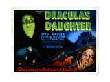 Dracula's Daughter, from Left, Gloria Holden, Edward Van Sloan, Marguerite Churchill, 1936 Giclee Print