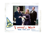 I Married a Witch, from Left, Fredric March, Veronica Lake, Robert Benchley, 1942 Giclee Print
