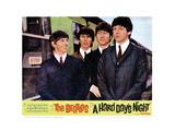 A Hard Days Night,Ringo Starr, George Harrison, John Lennon, Paul Mccartney 1964 Giclée-tryk