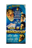 House of Frankenstein, 1944 Giclee Print