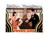 Private Lives, from Left, Norma Shearer, Robert Montgomery, 1931 Giclee Print