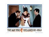 The Man Who Reclaimed His Head, from Left, Lionel Atwill, Joan Bennett, Claude Rains, 1934 Giclee Print