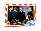 Gabriel over the White House, from Left, Walter Huston, Franchot Tone, Karen Morley, 1933 Giclee Print