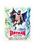 Batman, (AKA Batman: the Movie), 1966 Giclée-tryk