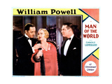 Man of the World, from Left, William Powell, Carole Lombard, Lawrence Gray, 1931 Giclee Print