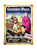 War and Peace, (AKA Guerre Et Paix), French Poster Art, 1956 Giclee Print