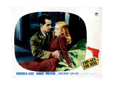 This Gun for Hire, from Left: Alan Ladd, Veronica Lake, 1942 Giclee Print
