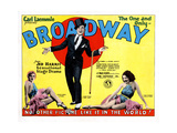 Broadway, from Left, Evelyn Brent, Glenn Tryon, Merna Kennedy, 1929 Giclee Print