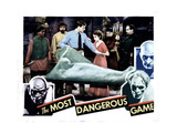 The Most Dangerous Game, 1932 Giclee Print