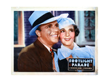 Footlight Parade, from Left, Dick Powell, Ruby Keeler, 1933 Giclée-tryk