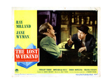 The Lost Weekend, from Left, Howard Da Silva, Ray Milland, 1945 Giclee Print