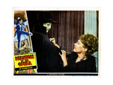 Phantom of the Opera, from Left, Claude Rains, Jane Farrar, 1943 Giclee Print