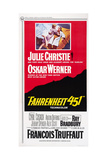 Fahrenheit 451, Top from Left, Julie Christie, Oskar Werner, 1966 Giclee Print