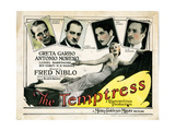 The Temptress, Greta Garbo, Antonio Moreno, Lionel Barrymore, Roy D'Arcy, H.B. Warner, 1926 Giclee Print