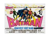 Batman, 1966 Giclée-tryk
