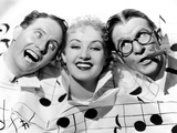The Nitwits, from Left, Bert Wheeler, Betty Grable, Robert Woolsey, 1935 Photo