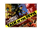 Talk of the Devil, from Left, Ricardo Cortez, Sally Eilers, 1936 Giclee Print