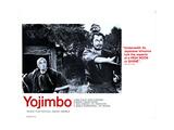 Yojimbo, (AKA the Bodyguard), from Left, Atusushi Watanabe, Toshiro Mifune, 1961 Giclee Print
