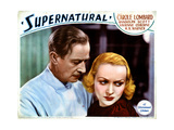 Supernatural, from Left, H.B. Warner, Carole Lombard, 1933 Giclee Print