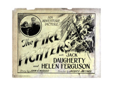 The Fire Fighters, from Left, Inset, Helen Ferguson, Jack Daugherty, 1927 Giclee Print