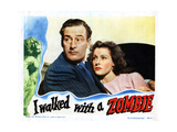 I Walked with a Zombie, from Left, Tom Conway, Frances Dee, 1943 Giclee Print