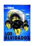 Los Olvidados, (AKA the Young and the Damned), (French Poster Art), 1950 Giclee Print
