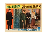 The Whispering Shadow, Chapter 1: the Master Magician, Bela Lugosi (Left, and Inset Center), 1933 Giclee Print