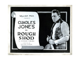 Roughshod, Buck Jones, 1922 Giclee Print