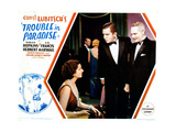 Trouble in Paradise, from Left: Kay Francis, Edward Everett Horton, Charles Ruggles, 1932 Giclee Print