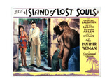 Island of Lost Souls, from Left, Kathleen Burke, Richard Arlen, 1932 Giclee Print