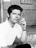Stephen Boyd, in Rome, Where He Is Filming Imperial Venus, 1962 Photo