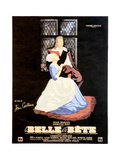 Beauty and the Beast, (AKA La Belle Et La Bete), 1946 Giclee Print
