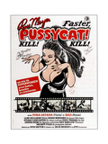 Faster, Pussycat! Kill! Kill!, French Poster Art, 1965 Giclee Print