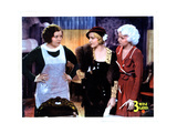 Three Wise Girls, from Left, Marie Prevost, Mae Clarke, Jean Harlow, 1932 Giclée-tryk