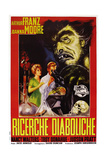 Monster on the Campus, (AKA Ricerche Diaboliche), Italian Poster Art, 1958 Giclee Print
