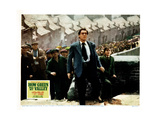 How Green Was My Valley, from Left, Center, Walter Pidgeon, Roddy Mcdowall, 1941 Giclée-tryk