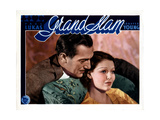 Grand Slam, from Left, Paul Lukas, Loretta Young, 1933 Giclee Print
