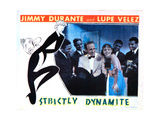 Strictly Dynamite, from Left: Jimmy Durante, Lupe Velez, the Mills Brothers (Rear), 1934 Giclee Print