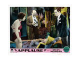 Applause, from Left, Joan Peers, Jack Singer, Helen Morgan, (On Couch), Fuller Mellish, Jr., 1929 Giclee Print