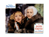 The Scarlet Empress, from Left, Marlene Dietrich Sam Jaffe, 1934 Giclee Print