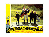 Superman and the Mole Men, George Reeves (Cape), 1951 Giclee Print