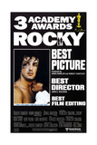 Rocky, L-R: Sylvester Stallone, Talia Shire on Poster Art, 1976 Giclee Print