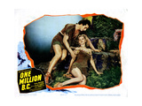 One Million B.C., from Left: Victor Mature, Carole Landis, 1940 Giclee Print