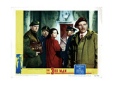 The Third Man, (AKA the 3rd Man), from Left, Bernard Lee, Alida Valli, Trevor Howard, 1949 Giclee Print