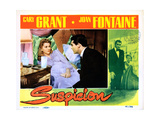 Suspicion, from Left: Joan Fontaine, Cary Grant, 1941 Giclee Print