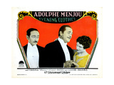 Evening Clothes, from Left: Adolphe Menjou, Noah Beery, Louise Brooks, 1927 Giclee Print