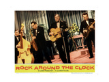 Rock around the Clock, Bill Haley and the Comets, 1956 Giclee Print