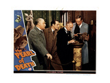 The Pearl of Death, from Left, Nigel Bruce, Basil Rathbone, Holmes Herbert, Dennis Hoey, 1944 Giclee Print