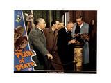 The Pearl of Death, from Left, Nigel Bruce, Basil Rathbone, Holmes Herbert, Dennis Hoey, 1944 Giclee Print
